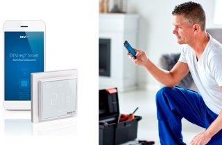 Управление теплым полом с помощью терморегулятора DEVIreg™ Smart