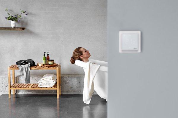 Какой теплый пол установить в ванной комнате