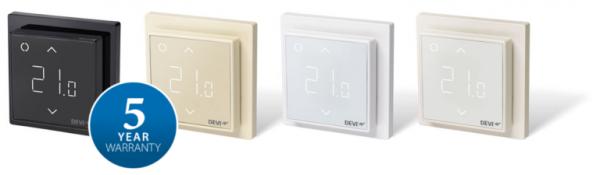 Терморегуляторы DEVIreg™ Smart для электрического теплого пола