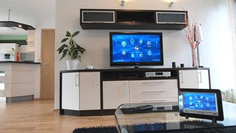 Дисплеи системи управления помещениями Eaton Xcomfort