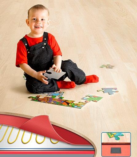 Нагревательные маты Devidry™ 100 для подогрева пола в детской комнате