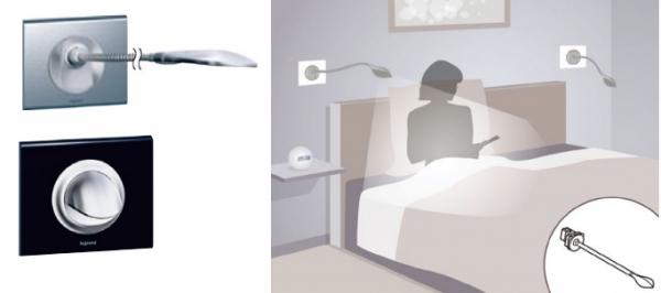 светильники для чтения Legrand Celiane