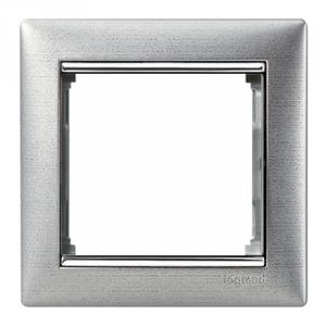 Рамка Legrand «Матовый Алюминий» (арт. 770331)