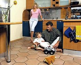 Особенности установки «тёплого пола» на кухне