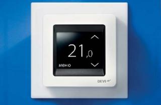 Способы регулирования температуры в нагревательных кабельных системах