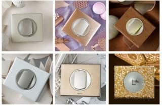 Многообразие материалов, форм и цветовых решений от Legrand