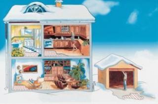 Где можно использовать систему теплый пол?