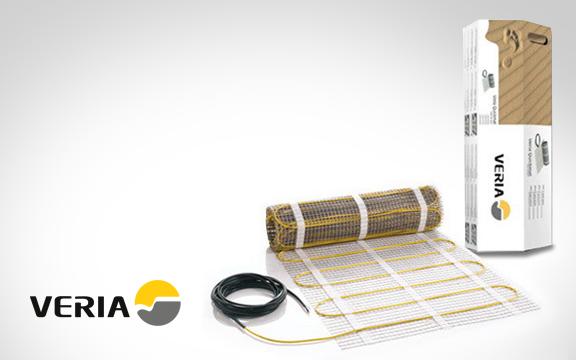 Новый электрический <br>теплый пол Veria <br>уже в продаже!
