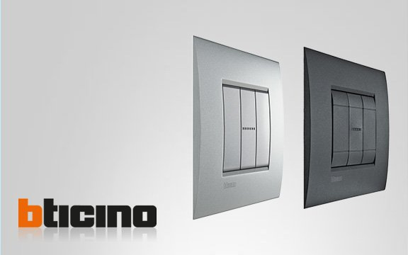 Розетки и выключатели Bticino</br>уже в продаже