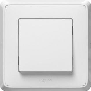 Выключатель одноклавишный Legrand Cariva™ (белый)