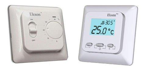 Терморегулятор механический Ekson-Mex, терморегулятор электронный Ekson-EX01