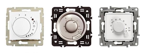 Механизмы терморегуляторов: Legrand Valena 770091, Legrand Celiane 67405, Legrand Etika 672230