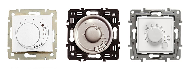 Механические терморегуляторы Legrand