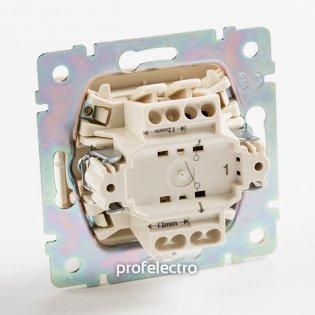 770101 Механизм выключателя одноклавишного алюминий 10 А 250 В Valena Legrand на profelectro.com.ua