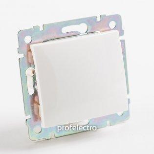 774407 Выключатель одноклавишный крестовой (промежуточный) белый без рамки 10А 250В Valena Legrand на profelectro.com.ua