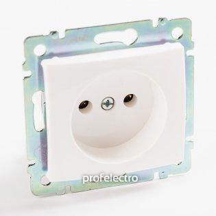 774416 Розетка без заземляющего контакта белая без рамки 16А, 250В Valena Legrand на profelectro.com.ua