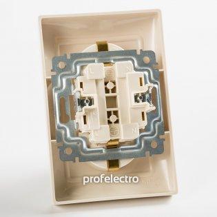 774400 Механизм розетки двойной с заземляющим контактом белый 16А, 250В Valena Legrand на profelectro.com.ua