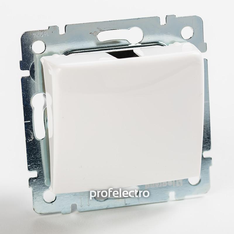 Механизм вывода кабеля белый без рамки Valena