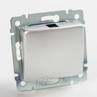 770147 Механизм вывода кабеля алюминий без рамки Valena Legrand на profelectro.com.ua