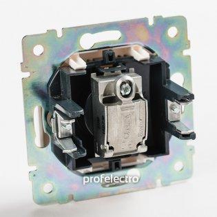 770129 Механизм розетки телевизионной TV-простой алюминий Valena Legrand на profelectro.com.ua