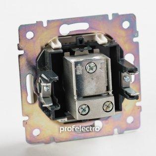 774431 Механизм розетки телевизионной TV-проходной белый Valena Legrand на profelectro.com.ua