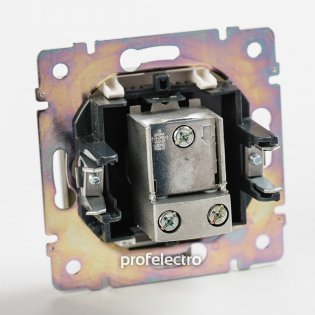 770131 Механизм розетки телевизионной TV-проходной алюминий Valena Legrand на profelectro.com.ua