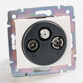 774436 Розетка телевизионная TV-R-SAT-концевая белая без рамки Valena Legrand на profelectro.com.ua