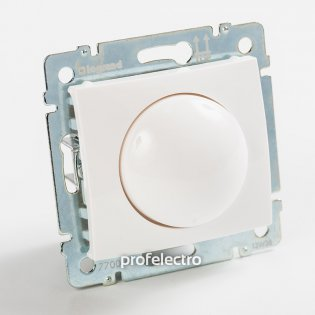 770061 Светорегулятор поворотный белый без рамки Valena Legrand на profelectro.com.ua