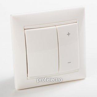 770074 Светорегулятор кнопочный 40-600Вт белый с рамкой Valena Legrand на profelectro.com.ua