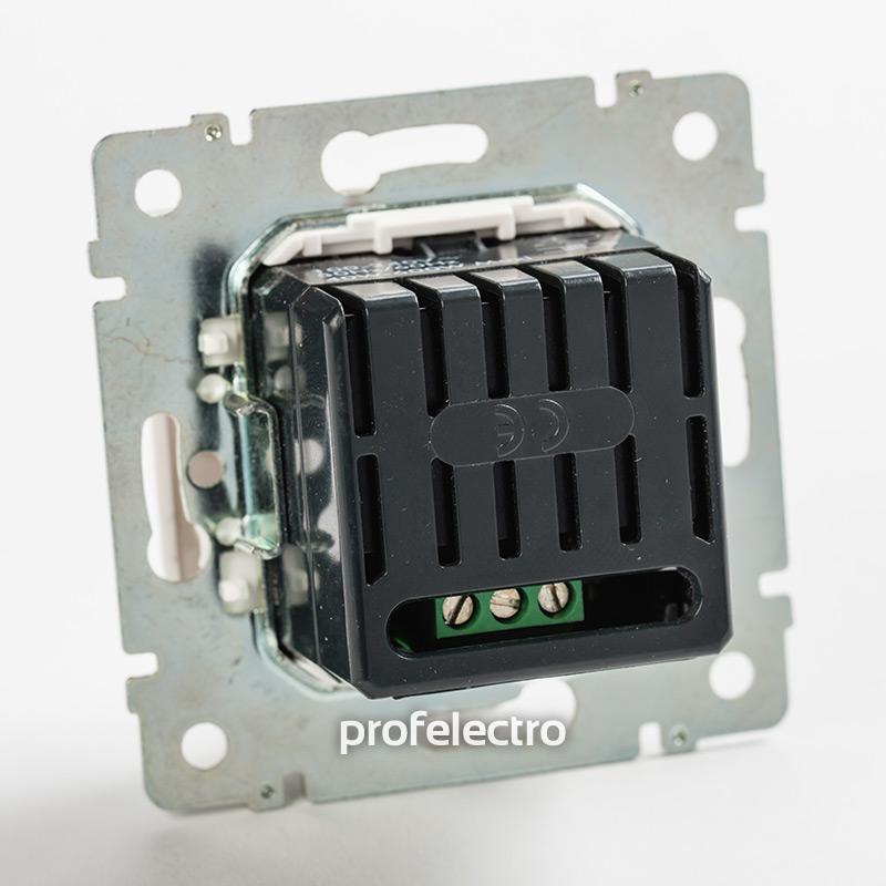 Механизм светорегулятора кнопочного 40-600Вт белый Valena