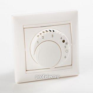 774227 Терморегулятор комфорт с выключателем белый с рамкой Valena Legrand на profelectro.com.ua