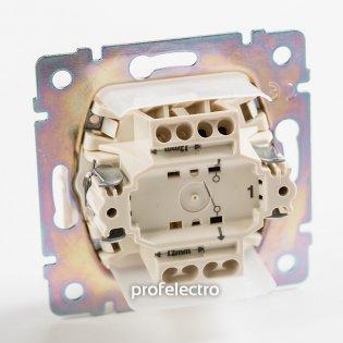 774201 Механизм выключателя одноклавишного влагозащищенного белого 10А 250В Valena Legrand на profelectro.com.ua
