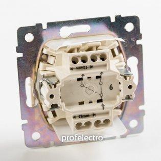 774206 Механизм выключателя одноклавишного проходного влагозащищенного белого 10А 250В Valena Legrand на profelectro.com.ua