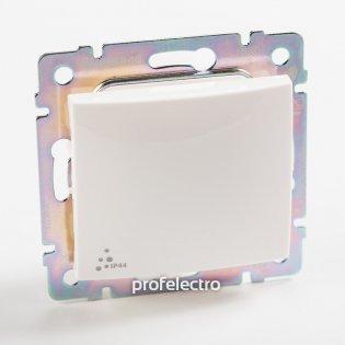 770097 Выключатель одноклавишный крестовой влагозащищенный белый без рамки 10А 250В Valena Legrand на profelectro.com.ua