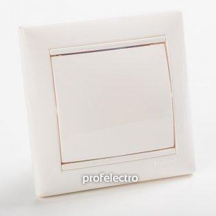 774446 Заглушка декоративная белая с рамкой Valena Legrand на profelectro.com.ua