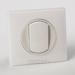 Рамка цвет белый глянец-панель белая Celiane Legrand на profelectro.com.ua