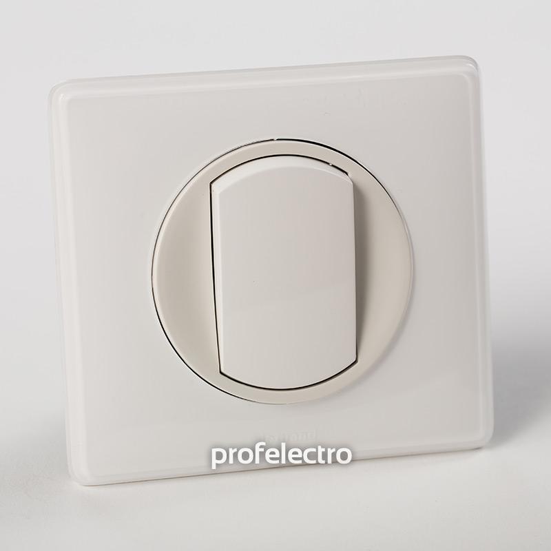 Рамка цвет белый глянец-панель белая Celiane