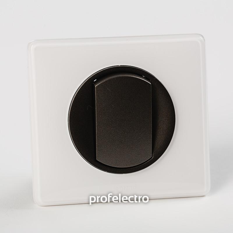 Рамка цвет белый глянец-панель графит Celiane