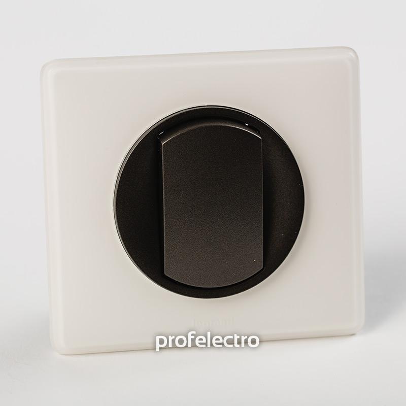 Рамка цвет белая перкаль-панель графит Celiane