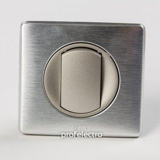 Рамка цвет алюминий-панель титан Celiane Legrand на profelectro.com.ua