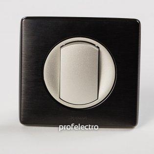 Рамка цвет карбон-панель титан Celiane Legrand на profelectro.com.ua