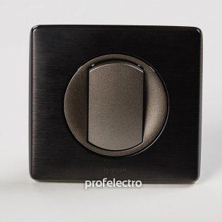 Рамка цвет карбон-панель графит Celiane Legrand на profelectro.com.ua