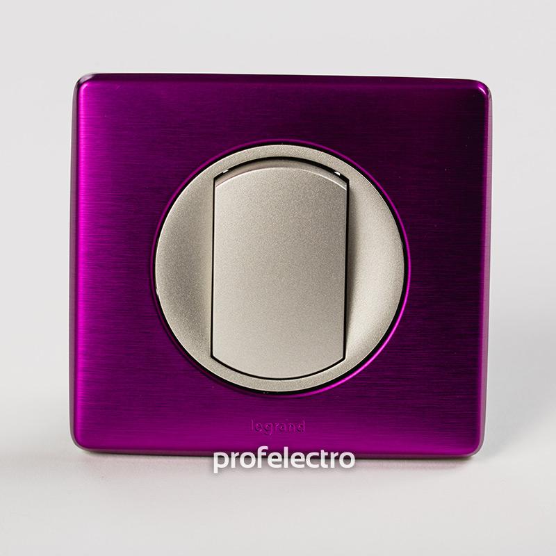 Рамка цвет пурпурный металлик-панель титан Celiane