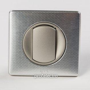 Рамка цвет сильвер пунктум-панель титан Celiane Legrand на profelectro.com.ua
