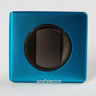 Рамка цвет лазурный пунктум-панель графит Celiane Legrand на profelectro.com.ua