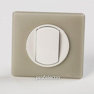 Рамка цвет грин перкаль-панель белая Celiane Legrand на profelectro.com.ua