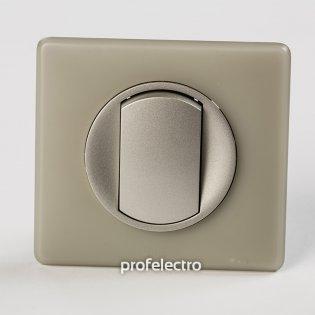 Рамка цвет грин перкаль-панель титан Celiane Legrand на profelectro.com.ua