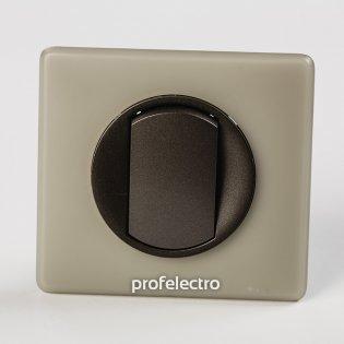 Рамка цвет грин перкаль-панель графит Celiane Legrand на profelectro.com.ua