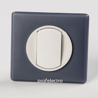 Рамка цвет фиолетовая перкаль-панель белая Celiane Legrand на profelectro.com.ua