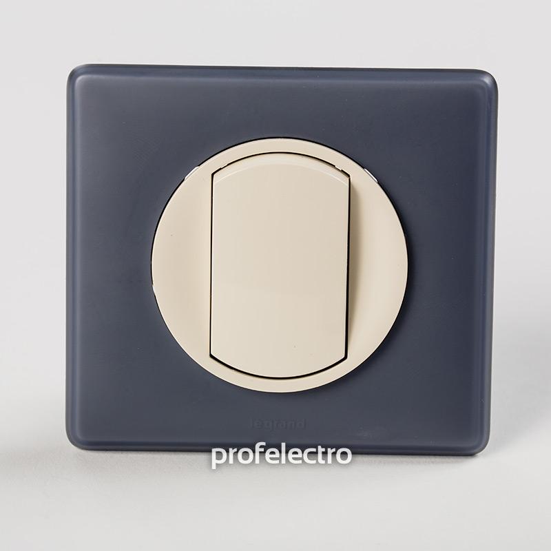 Рамка цвет фиолетовая перкаль-панель слоновая кость Celiane